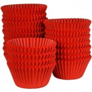 Red - Professional Quality Cupcake Cases, Bulk Pack of 500