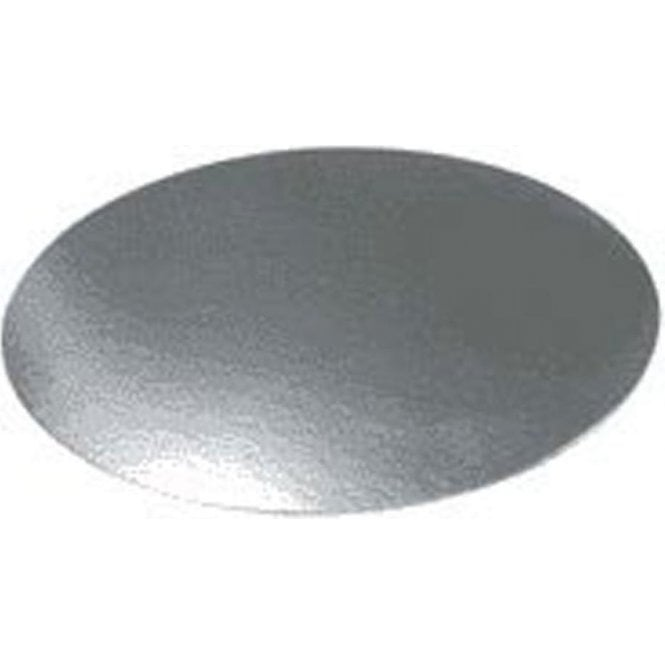 Packaging Pro Silver Embossed Round Plain Cake Gateau Cards (1mm Thick) - Choose Your Sizes