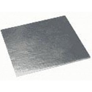 Silver Square Plain Cake Gateau Cards (1mm Thick) - Choose Your Sizes