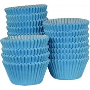 Sky Blue - Professional Quality Cupcake Cases, Bulk Pack of 500