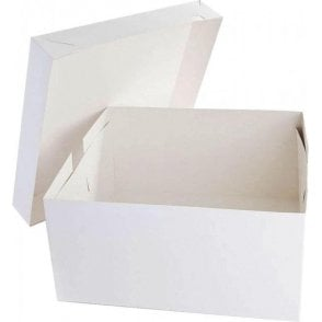 Square, Standard Cake Boxes - Base & Lid - Choose Your Sizes