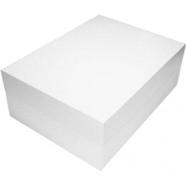 Standard Oblong Cake Boxes - Choose Your Size