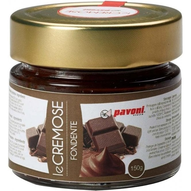 Pavoni 150g Dark Chocolate Filling for Macaroons, Cupcakes, Cookies etc