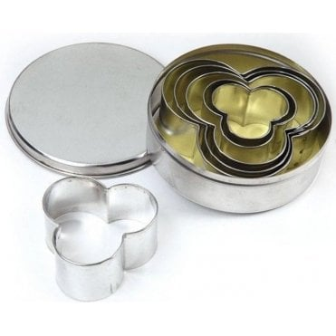Clover 6 Stainless Steel Fondant/Cookie Cutter