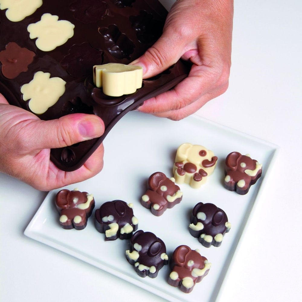 Elephant Chocolate Silicone Mould By Pavoni Italia