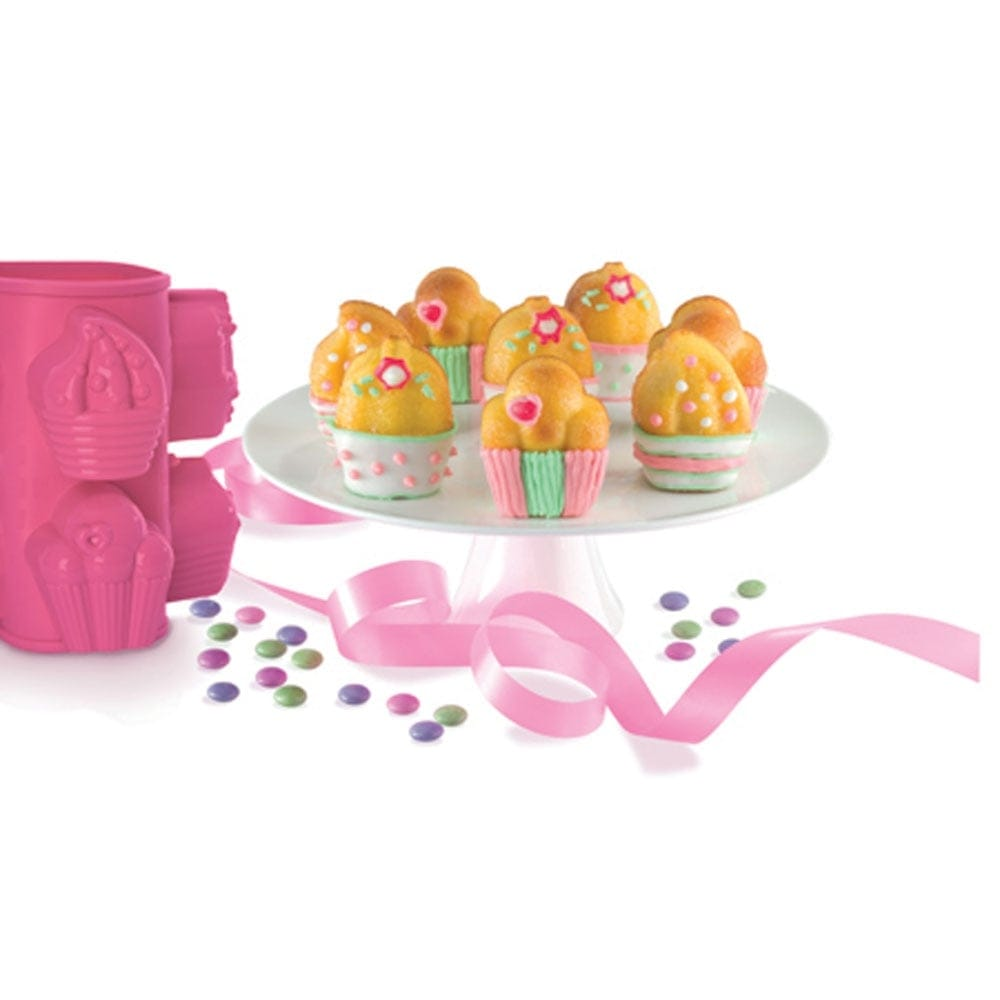 Happy Birthday Cupcakes Silicone Baking Mould By Pavoni Italia