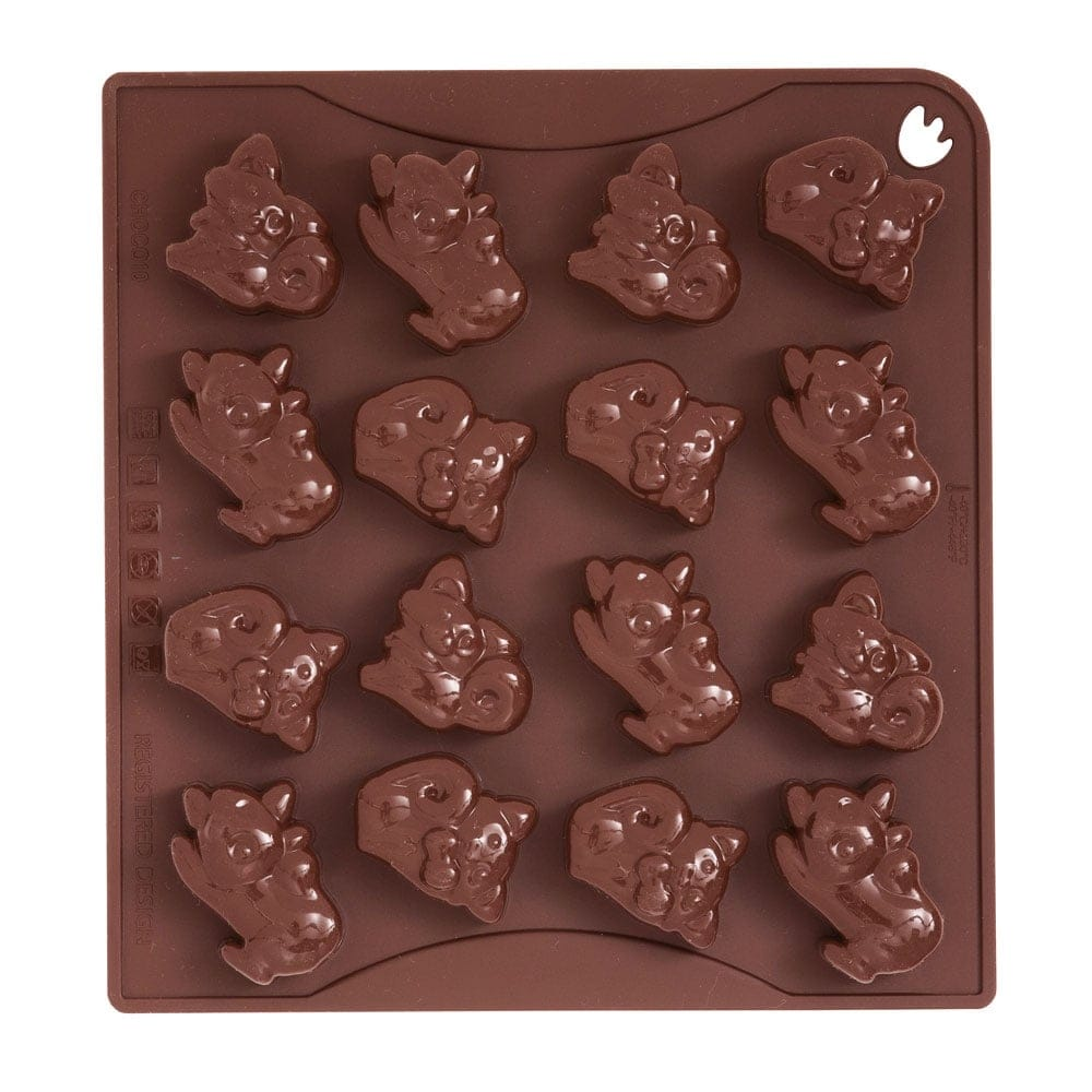 Cats/Kitties Chocolate Silicone Mould by Pavoni Italia