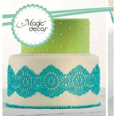 Magic Decor Original Cake Lace Silicone Mat - Design No.3