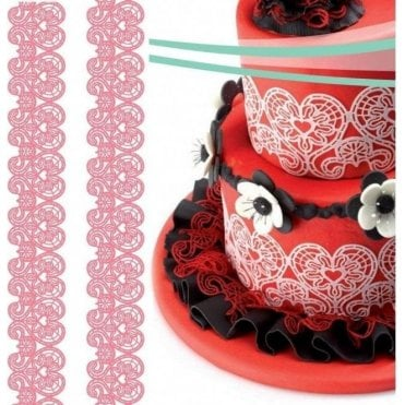 Magic Decor Original Silicone Cake Lace Mat 5