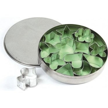 Mixed Shapes 12 Stainless Steel Fondant/Cookie Cutter