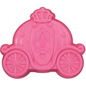 Princess Pink Chariot Silicone Baking Mould
