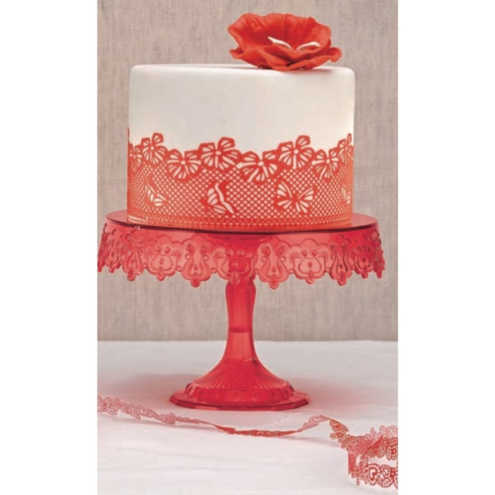Cake Decorating With Edible Lace : Rapid Innovation Magic Decor  Original Edible Lace Mix