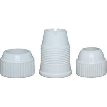 Medium & Large Plastic Coupler Set - For Medium & Large Nozzles