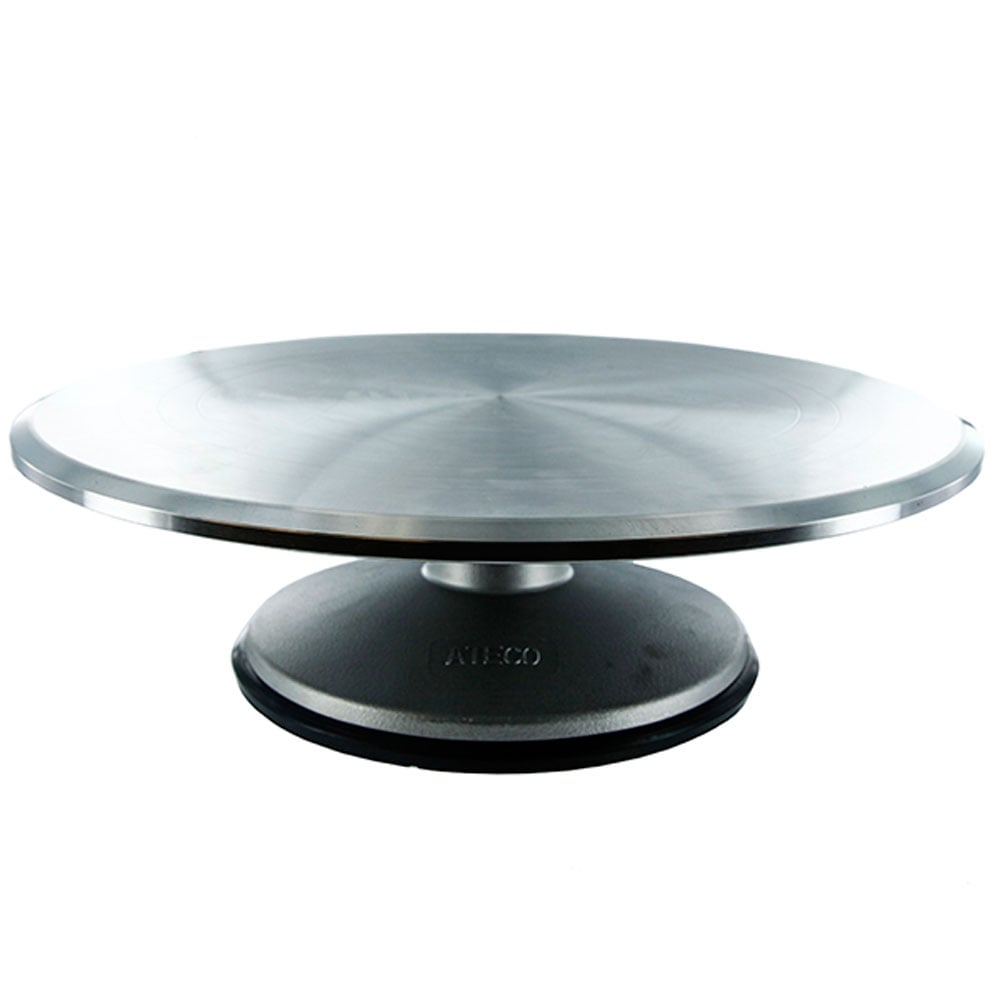Round Professional Aluminium Cake Decorating Turntable