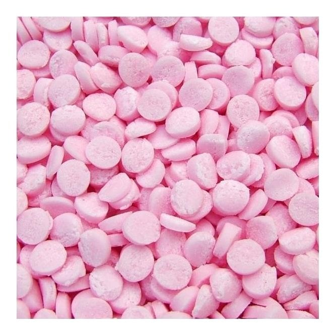 Quality Sprinkles 100% Natural, Bright Pink Confetti Sequin Sprinkles