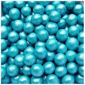100% Natural, Pearlised Blue 8mm Pearls 65g