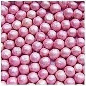 100% Natural, Pearlised Pink 6mm Pearls 65g