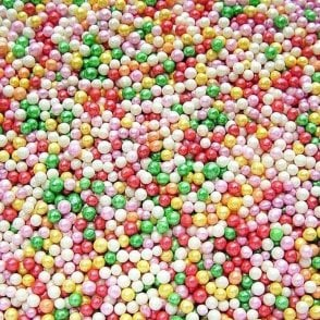 100% Natural, Rainbow non-pareils 100g