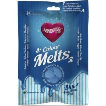 Blue Chocolate & Candy Colour Melts 250g
