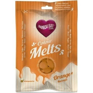Orange Chocolate & Candy Colour Melts 250g