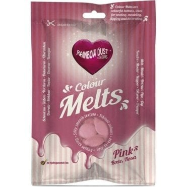 Pink Chocolate & Candy Colour Melts 250g