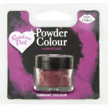 Powder Colour - Aubergine