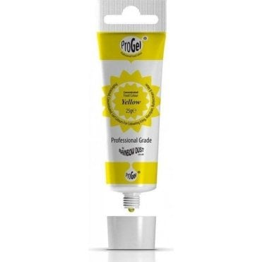 ProGel® Yellow Professional Food Gel Colours 25g