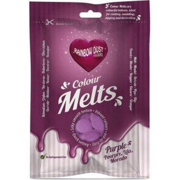 Purple Chocolate & Candy Colour Melts 250g
