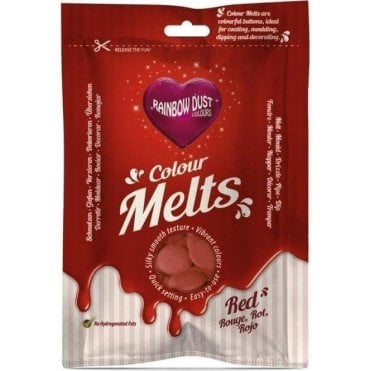 Red Chocolate & Candy Colour Melts 250g