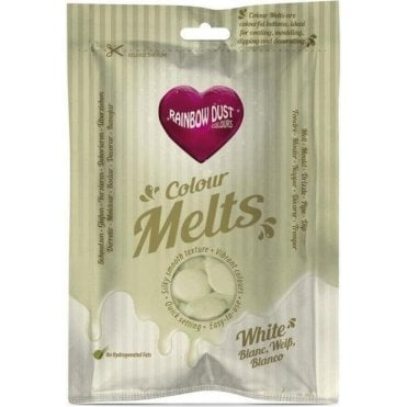 White Chocolate & Candy Colour Melts 250g