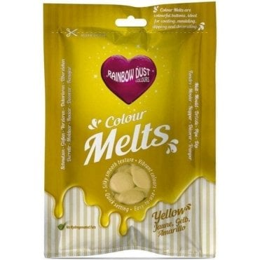 Yellow Chocolate & Candy Colour Melts 250g