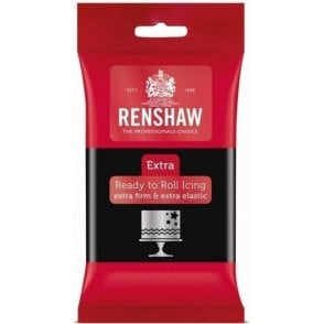 Renshaw Black - EXTRA Ready to Roll Icing 250g