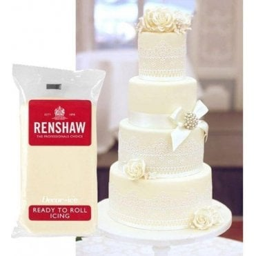 Ivory Professional Regalice Decor Ice Sugarpaste - Choose Your Pack Size