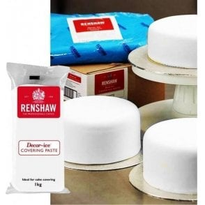 White Covering Paste Ready to Roll Fondant Icing - Choose Your Sizes
