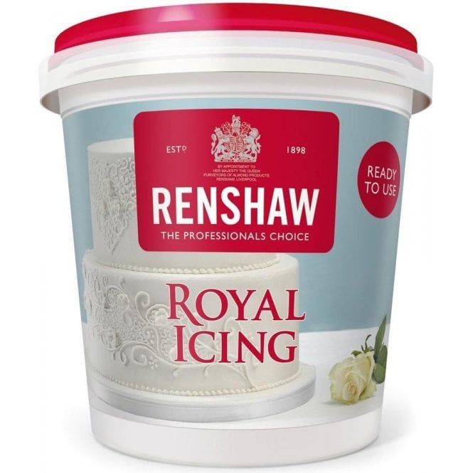 Renshaw White Royal Icing Ready to Use 400g