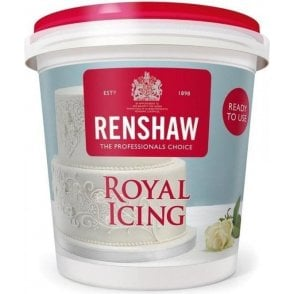 White Royal Icing Ready to Use 400g