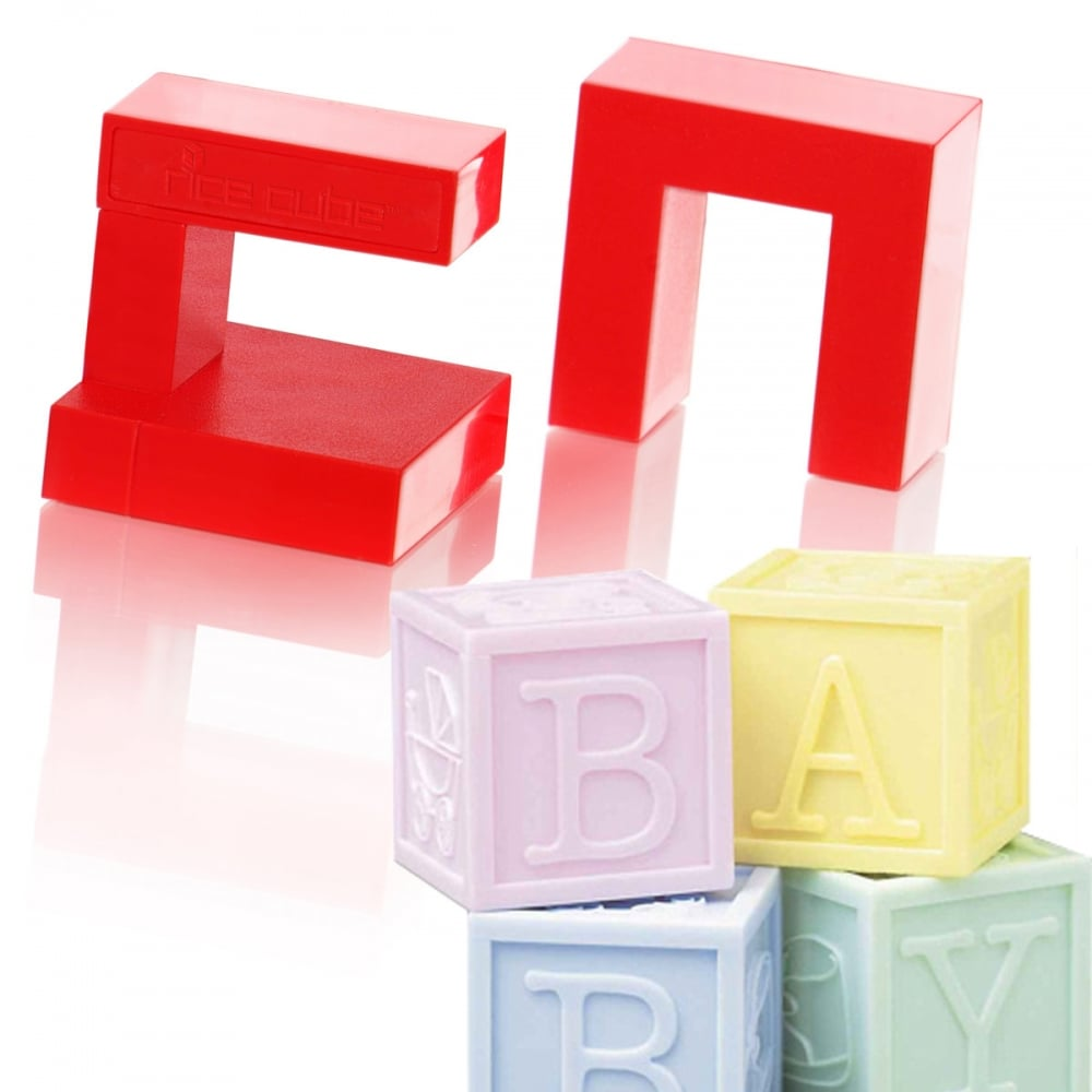 Cake Decorating Letter Cubes : Cake Decorating Cube Maker - 30mm Blocks by Rice Cubes