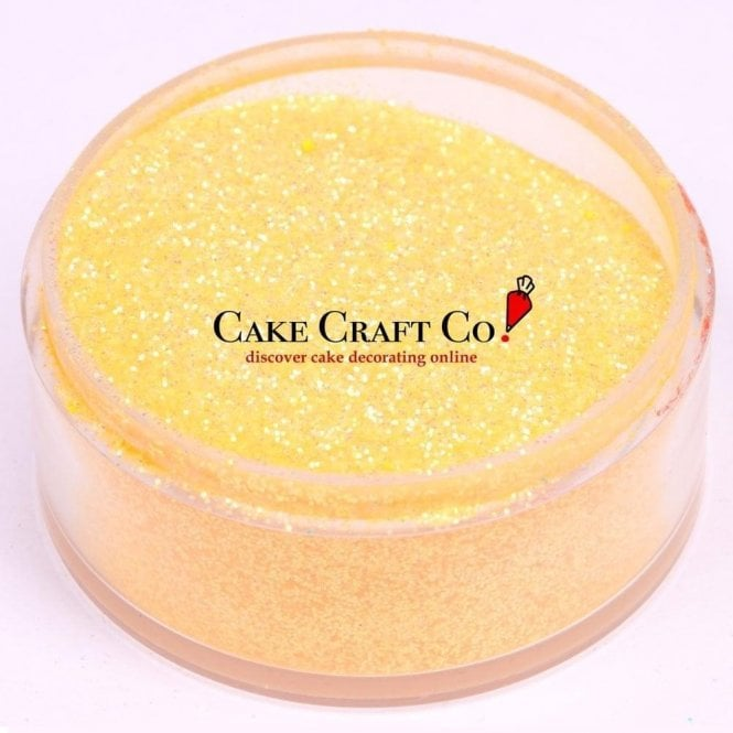 Rolkem Apricot - CRYSTALS Edible Glitter Colours for 'Sparkling' Finish 10g
