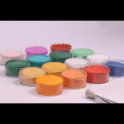 Rolkem APRICOT Sparkle Sugarcraft Lustre Dust Icing Colouring 10g