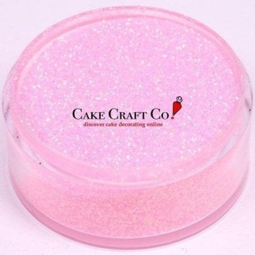 Baby Pink - CRYSTALS Edible Glitter Colours for 'Sparkling' Finish 10g
