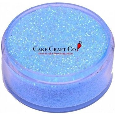 Blue  - CRYSTALS Edible Glitter Colours for 'Sparkling' Finish 10g