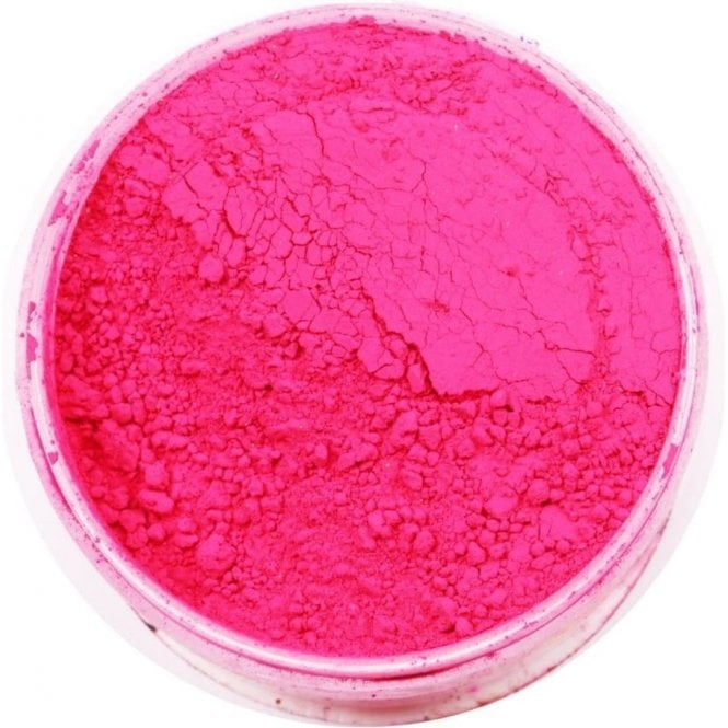 Rolkem Cerise - Lumo/Luminosity/Glow in the Dark Edible Sugarcraft Dust Food Colouring - Choose Your Sizes