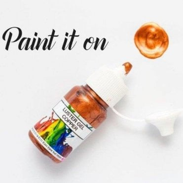 Copper - Gel Lustre Edible Paint