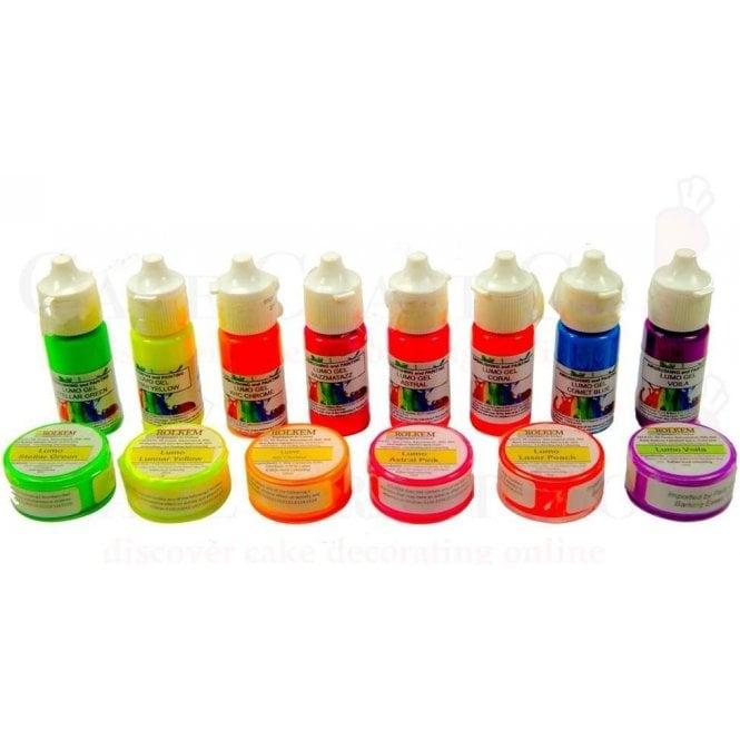Rolkem *Customers Choice* Full Set of all 14 Lumo Gels & Dust for ...