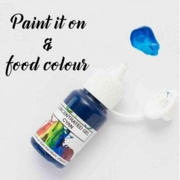 Cyan - Concentrates Edible Paint 15ml