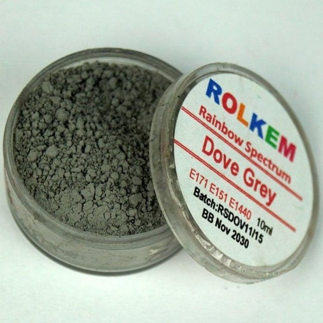 Rolkem Dove Grey - Rainbow Spectrum Dusting Colour 10ml
