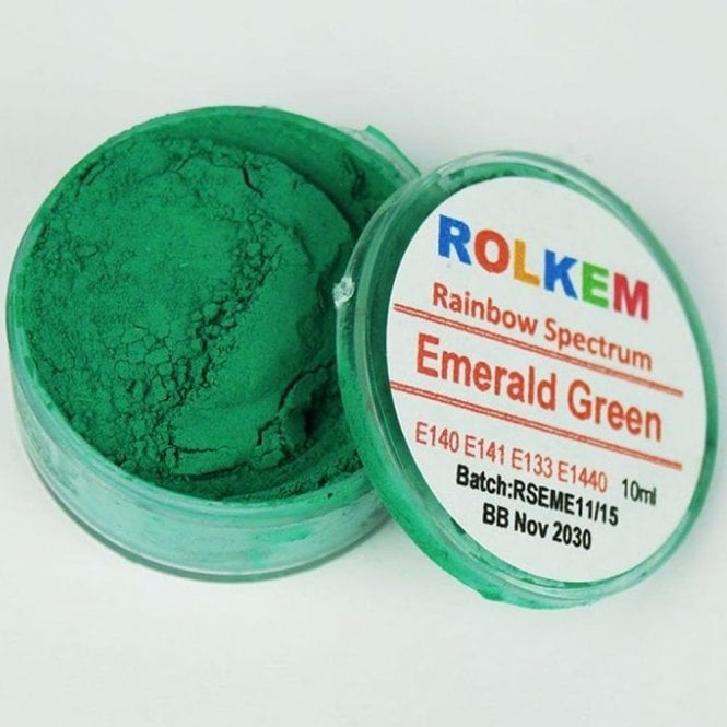 Rolkem Emerald Green - Rainbow Spectrum Dusting Colour 10ml