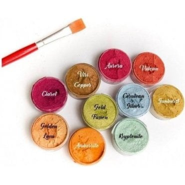 FULL SET OF ALL 10 COLOURS - Lumina Dusting Colouring - Colouring 10ml