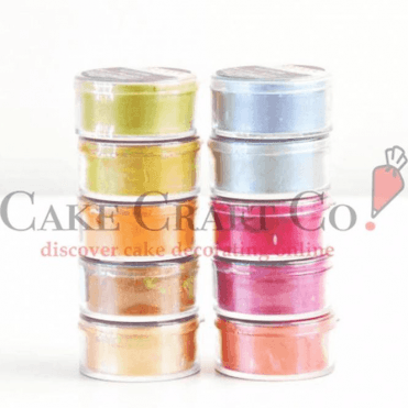 FULL SET OF ALL 10 COLOURS - Lumina Edible Dusting Food Colouring - Sugarcraft Food Colouring 10ml