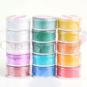 *FULL SET OF ALL 15* Sparkling Edible Shiny Lustre Food Colouring 10ml
